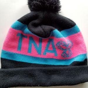 TNA pom pom hat